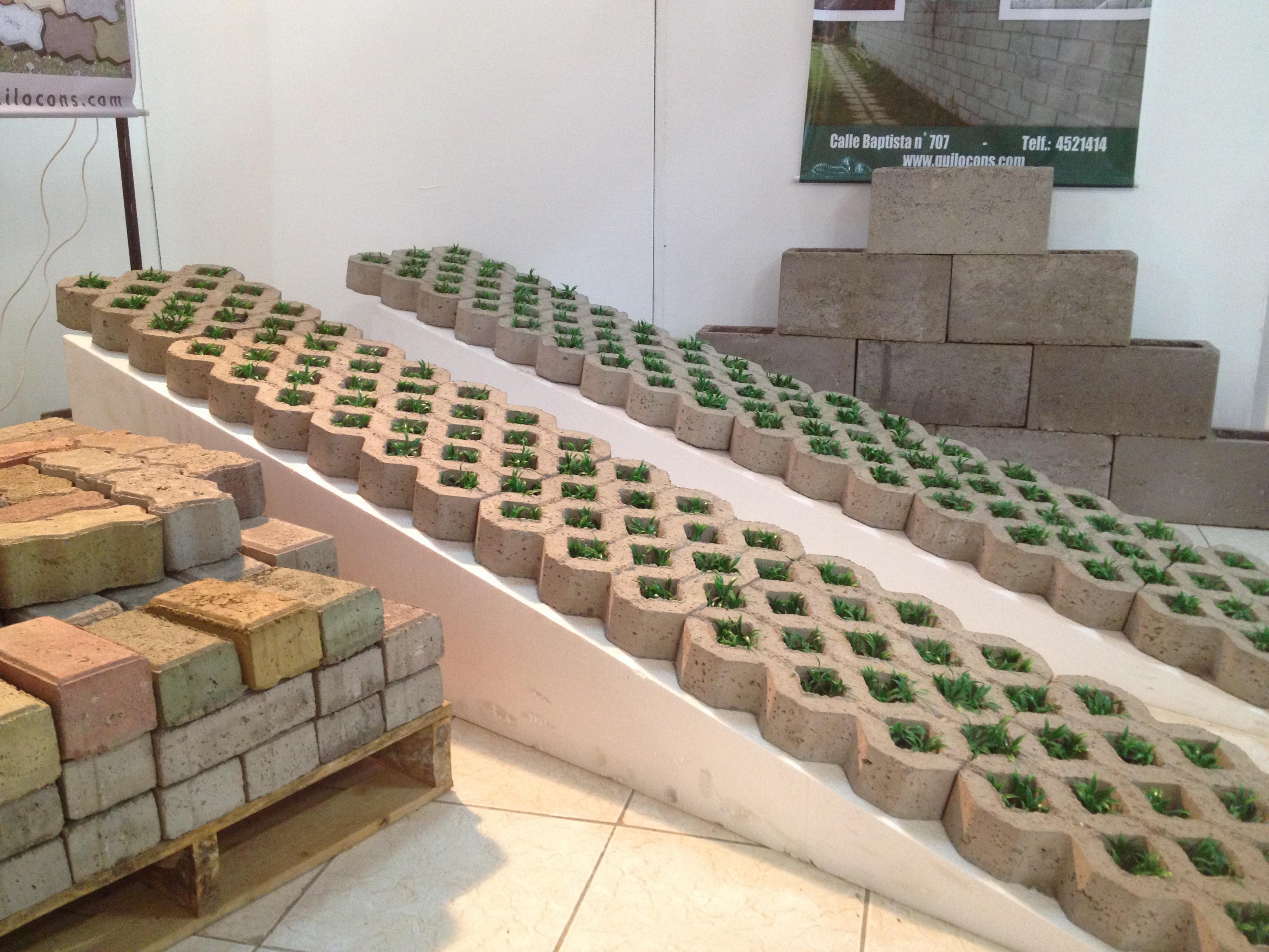 Quilocons srl prefabricados para la construccion - Loseta para jardin ...